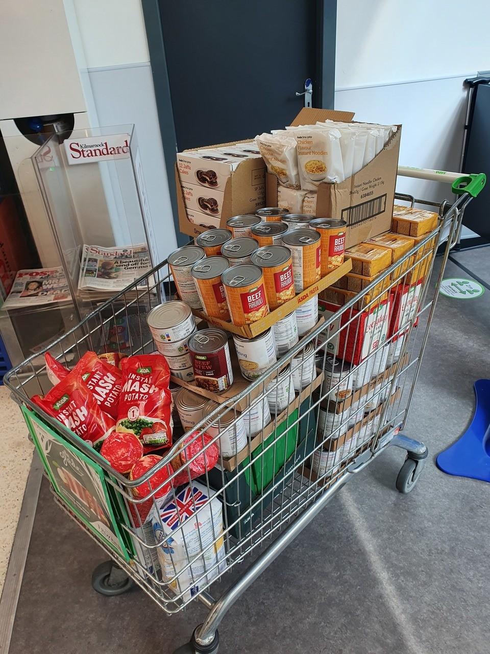Food for the homeless | Asda Kilmarnock