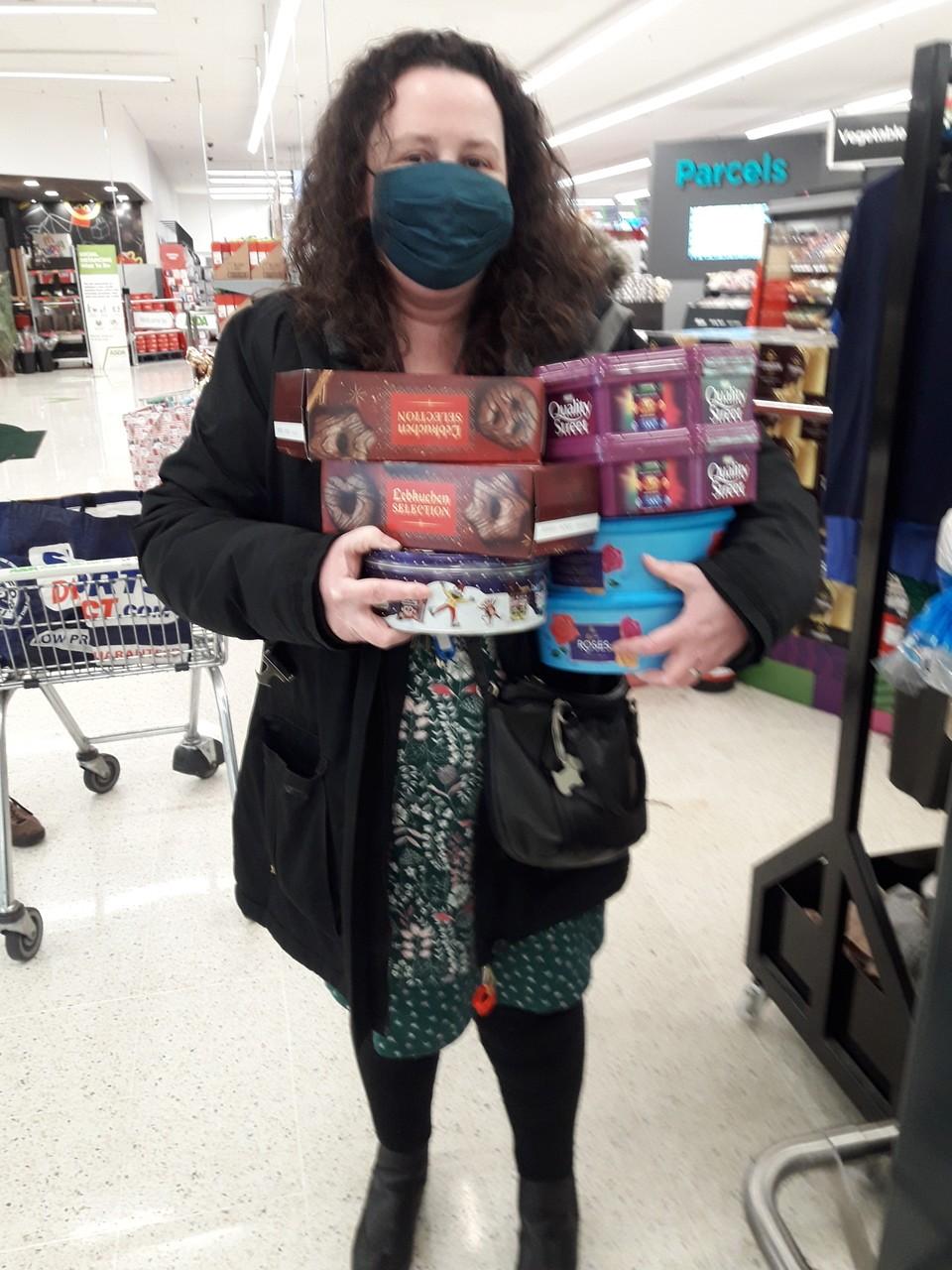 Christmas donation | Asda Leigh