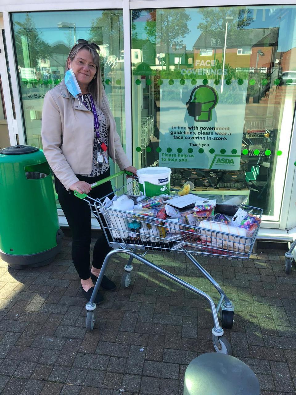 Donation to CGL Halton | Asda Widnes