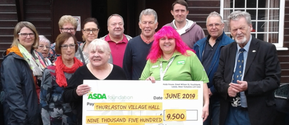 Asda Foundation grant of £9,500 for Thurlaston Village Hall