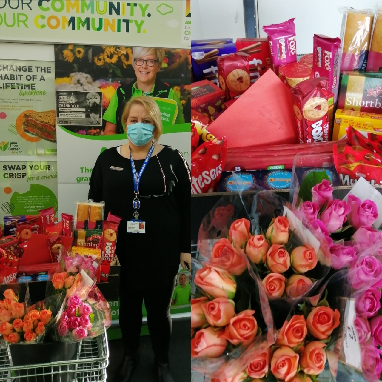 Happy Valentine's Day to Willow Bank Care Home | Asda Clayton Green