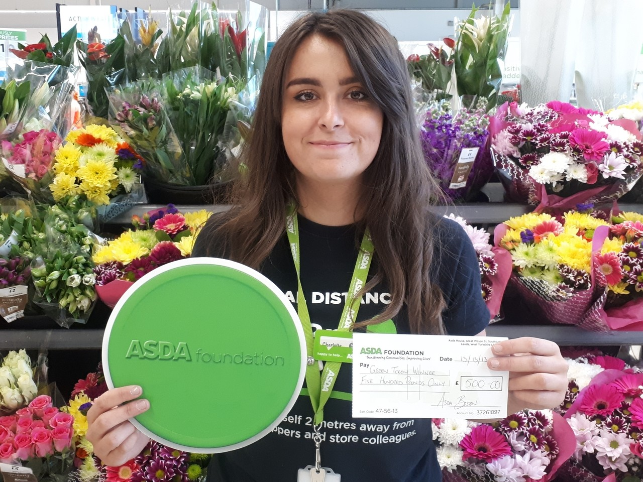 Green token winners | Asda Boston
