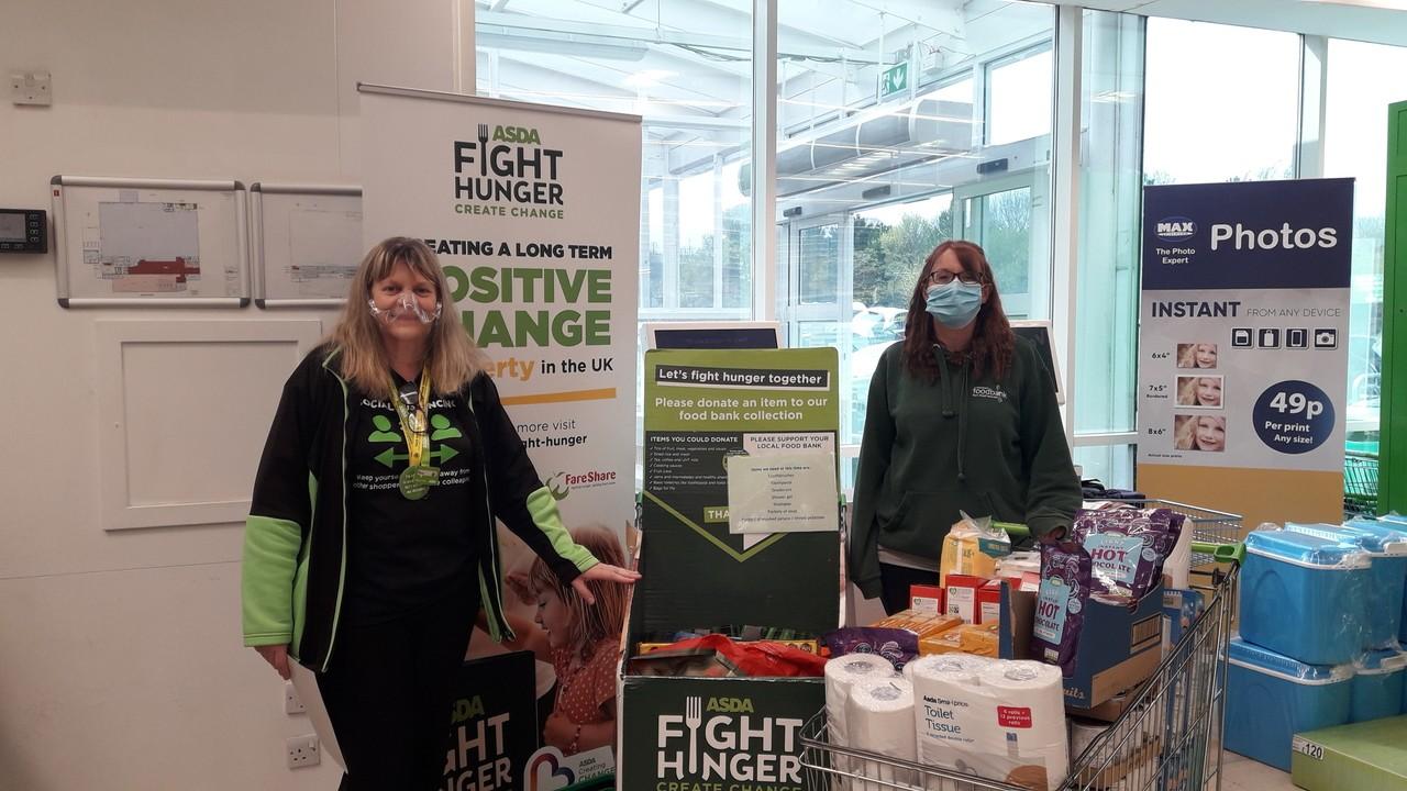 Wrexham Foodbank donation | Asda Wrexham