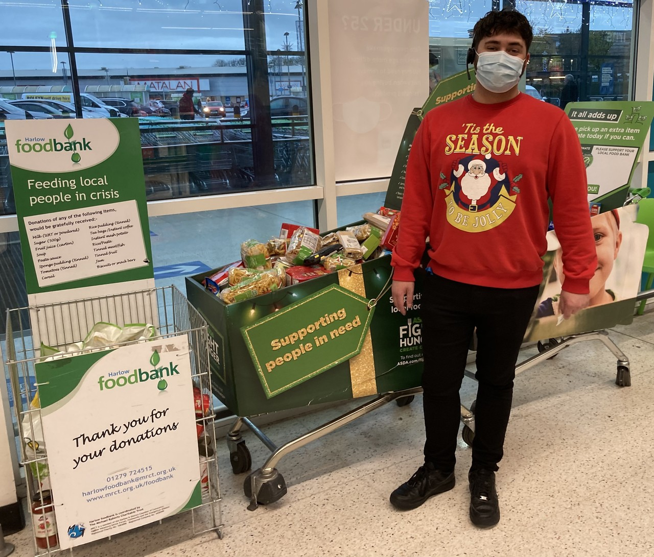 Harlow Food Bank | Asda Harlow