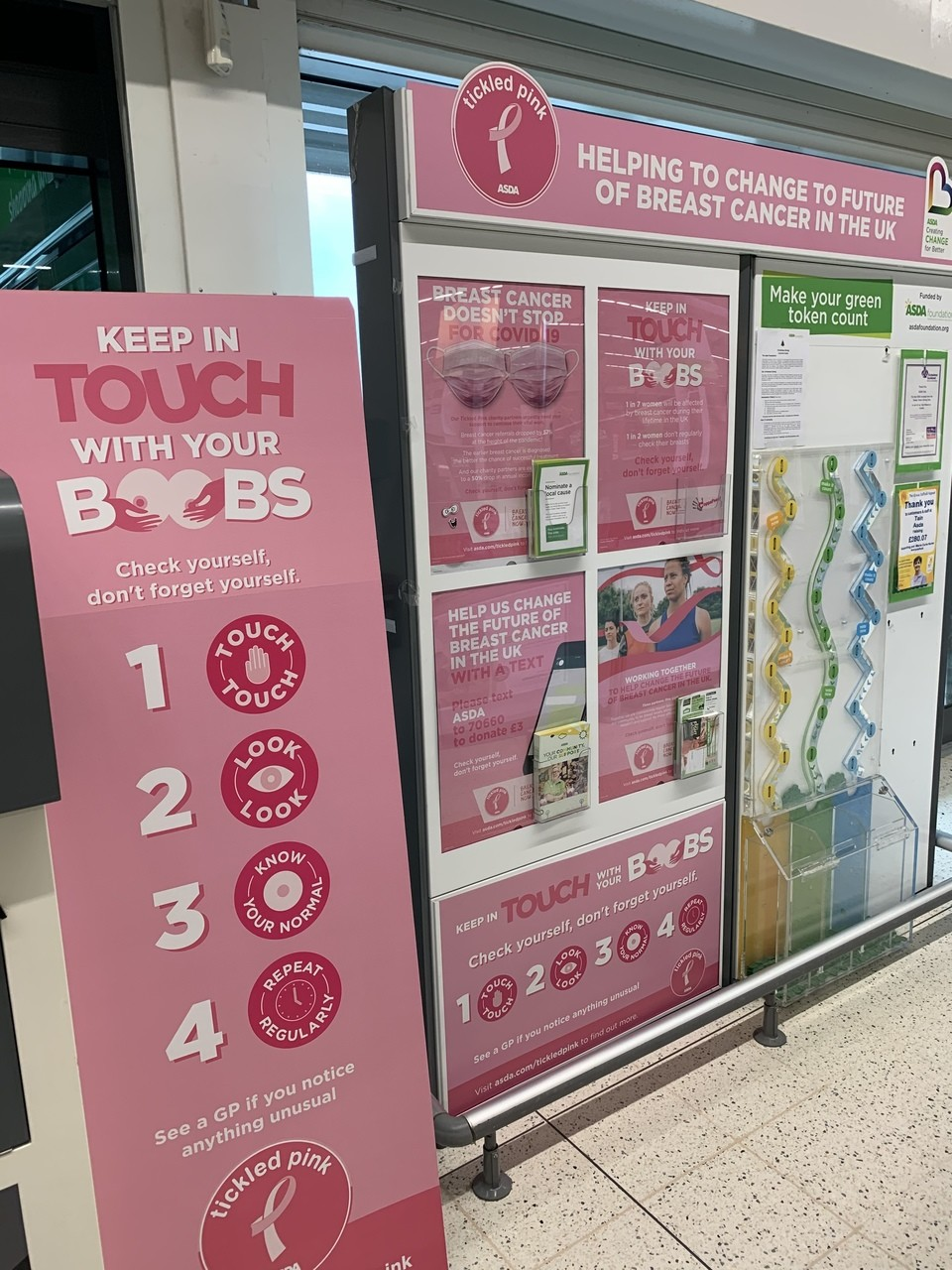 Supporting Tickled Pink | Asda Tain