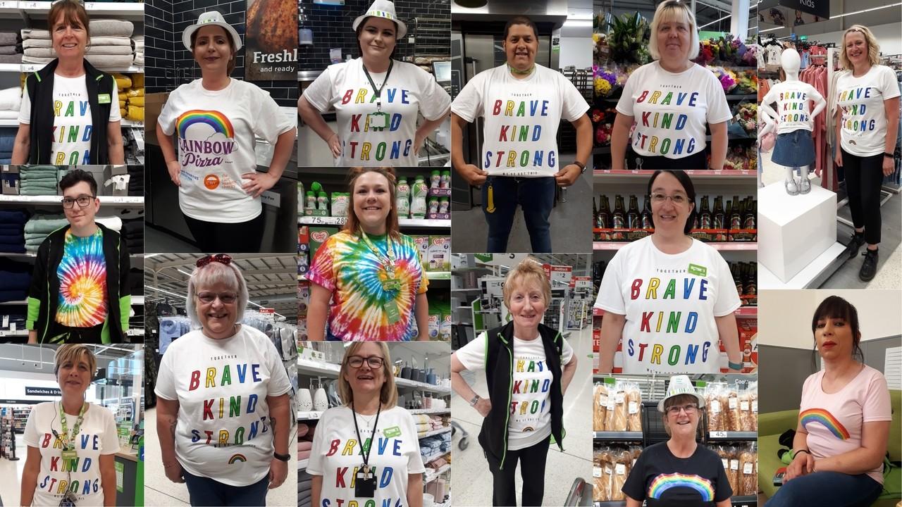 Rainbow celebration | Asda Boston