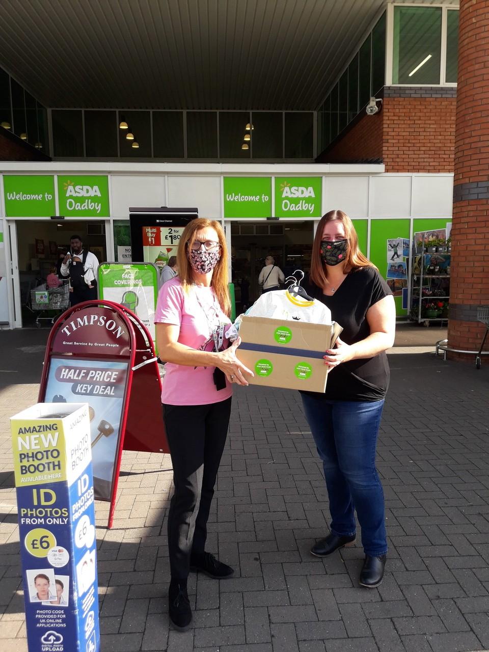 Pyjamas charity donation | Asda Oadby