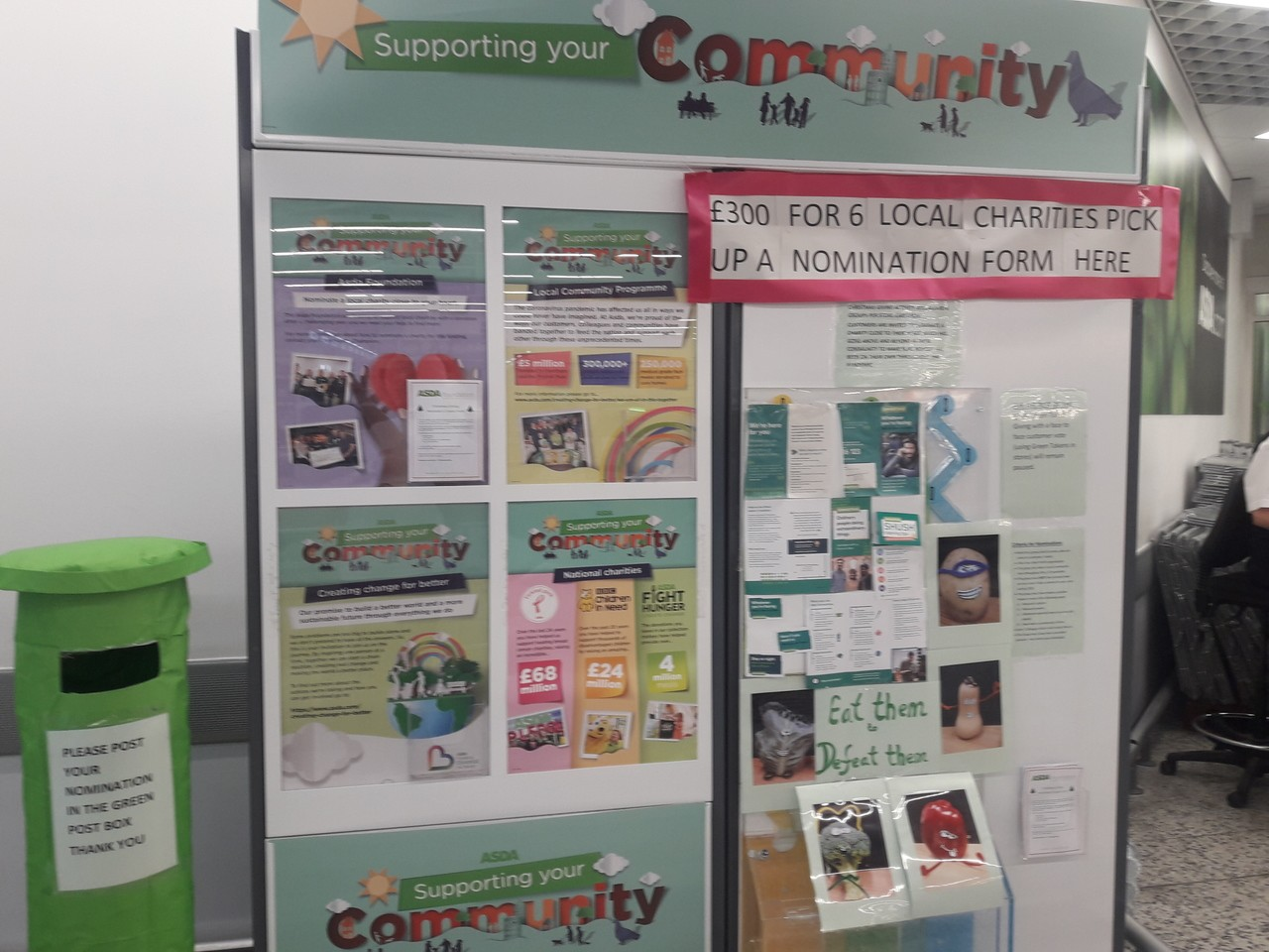 £300 available for six local causes – send in your nominations | Asda Bournemouth