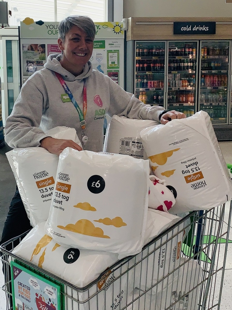 Donations to Lighthouse | Asda Halifax
