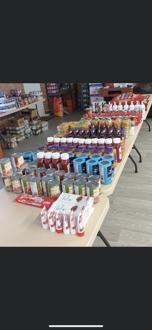 Donation to Bedlinog and Trelewis Foodbank | Asda Merthyr Tydfil