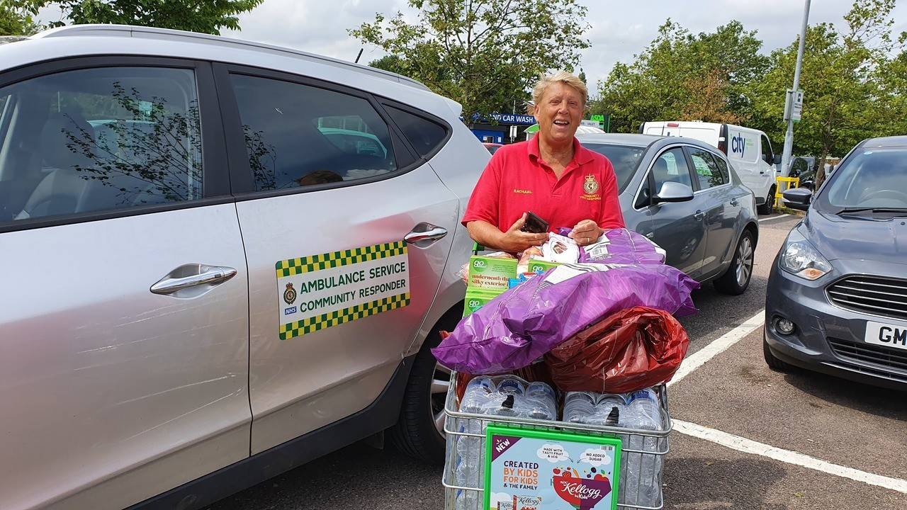 Goodies for first responders | Asda Greenhithe