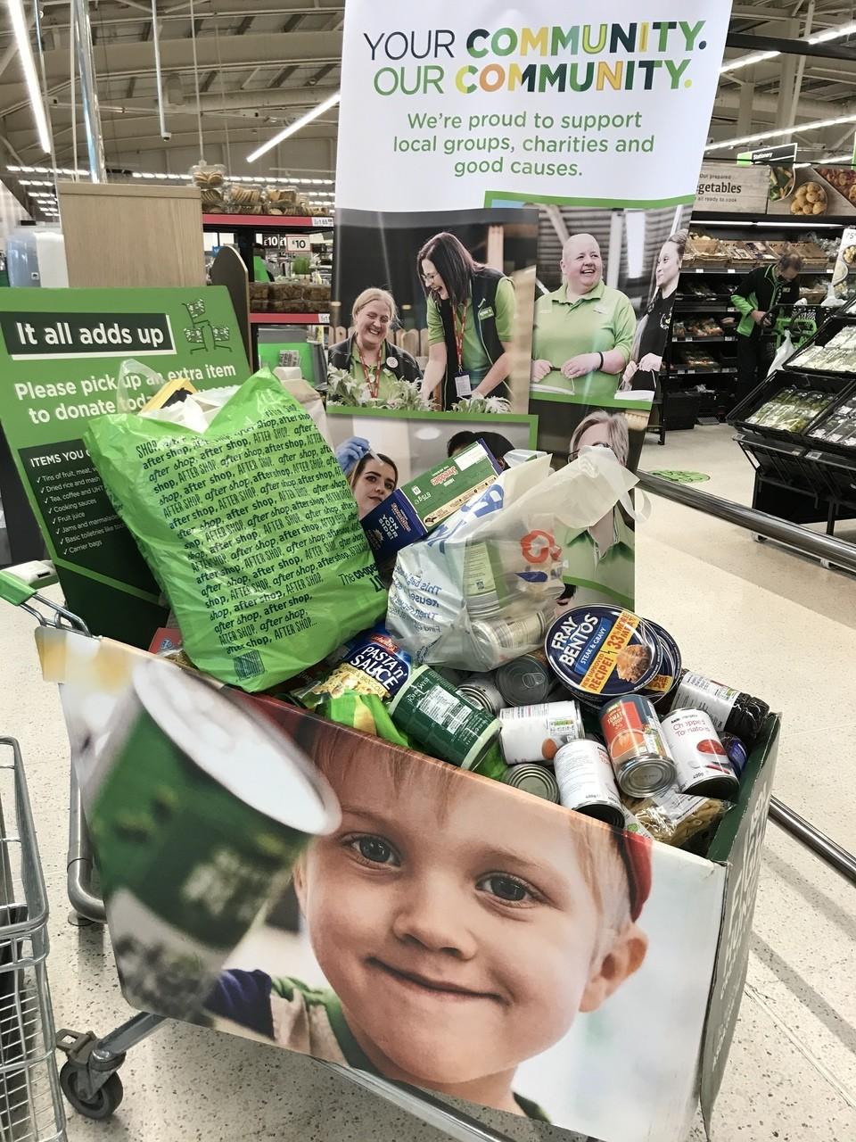 Fight hunger create change   Asda Canterbury