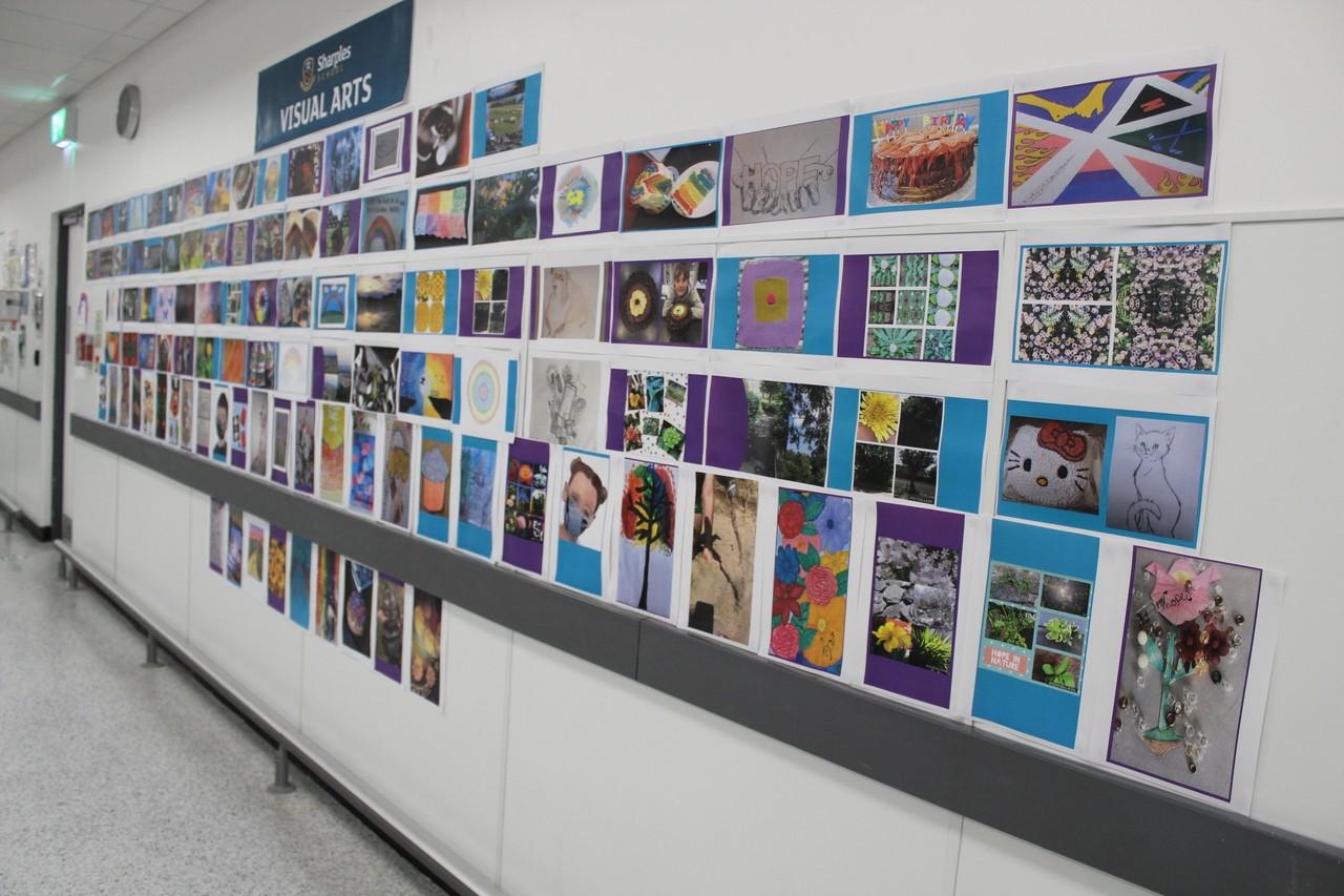 We exhibit Sharples Secondary School Festival of Hope Art Work. | Asda Bolton