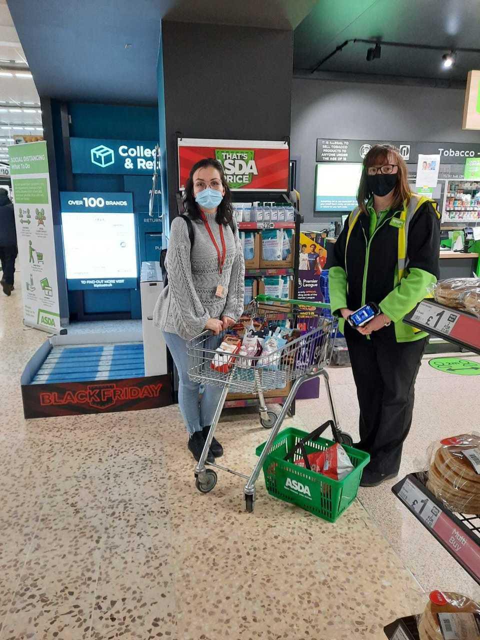 Donations toFamilies Outside charity | Asda Peterhead