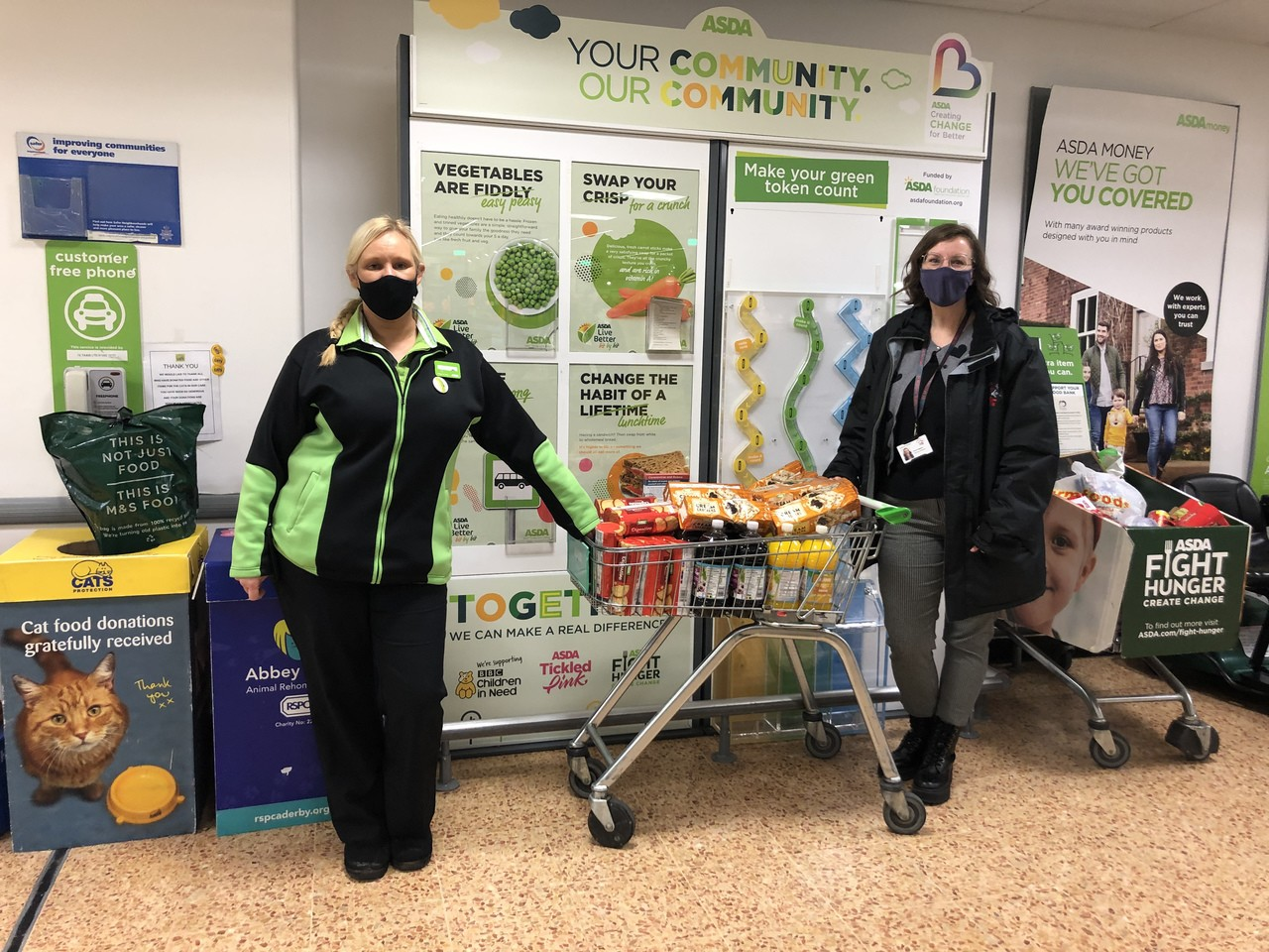 Happy to support our local schools | Asda Derby