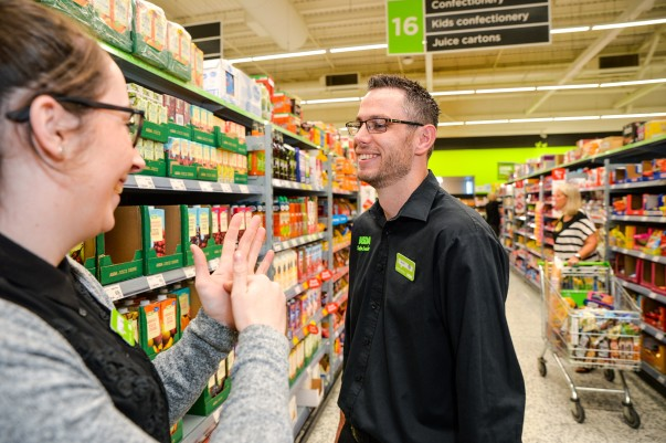 Colleagues at Asda Morley have been learning sign language to support deaf colleague David Bould