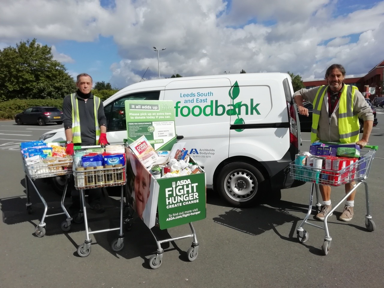Customer donations boost our Fight Hunger Create Change campaign | Asda Morley