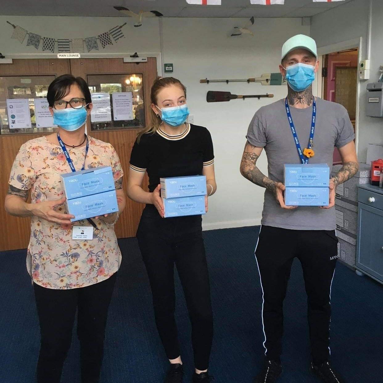 Donation of face masks💙🌈👏 | Asda Sutton in Ashfield