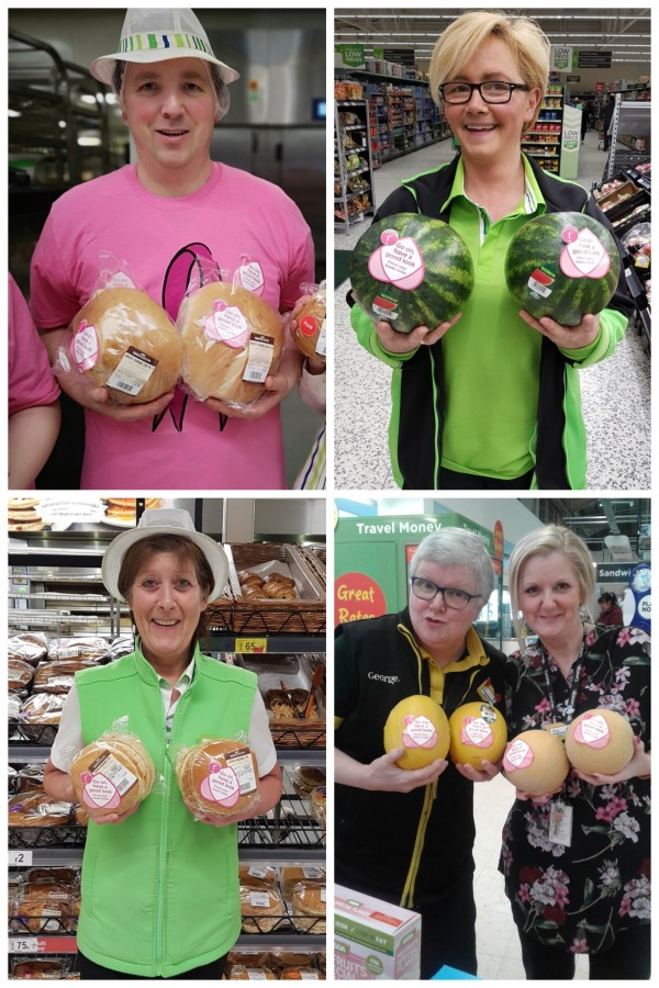 Be Your Breast Friend is part of the Asda Tickled Pink breast cancer campaign