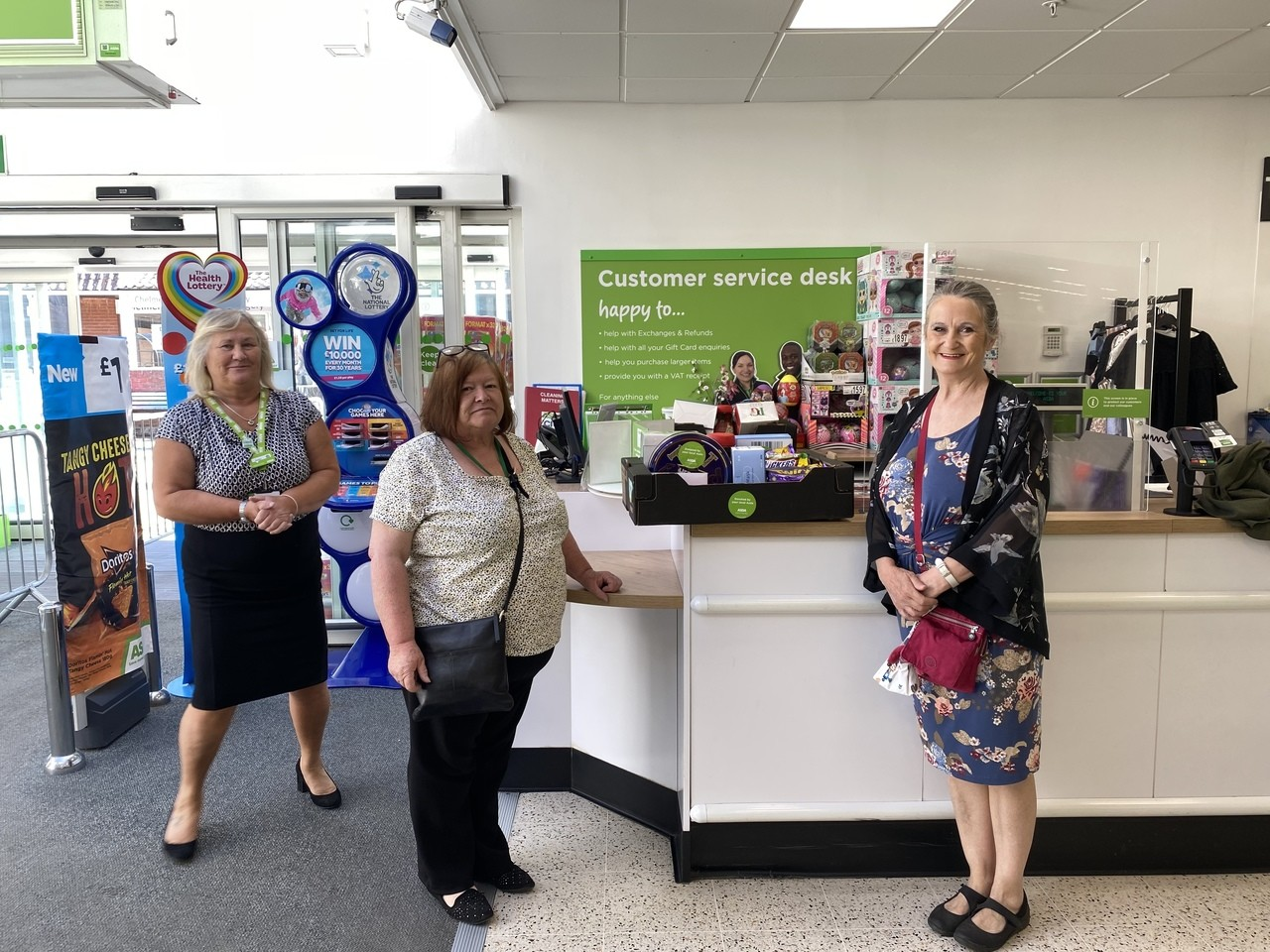 Care home donation  | Asda Chelmsford