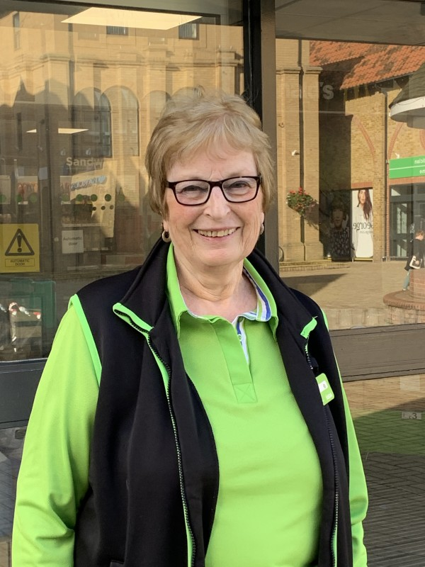 Joan Ferry has worked at Asda South Woodham Ferrers for 40 years