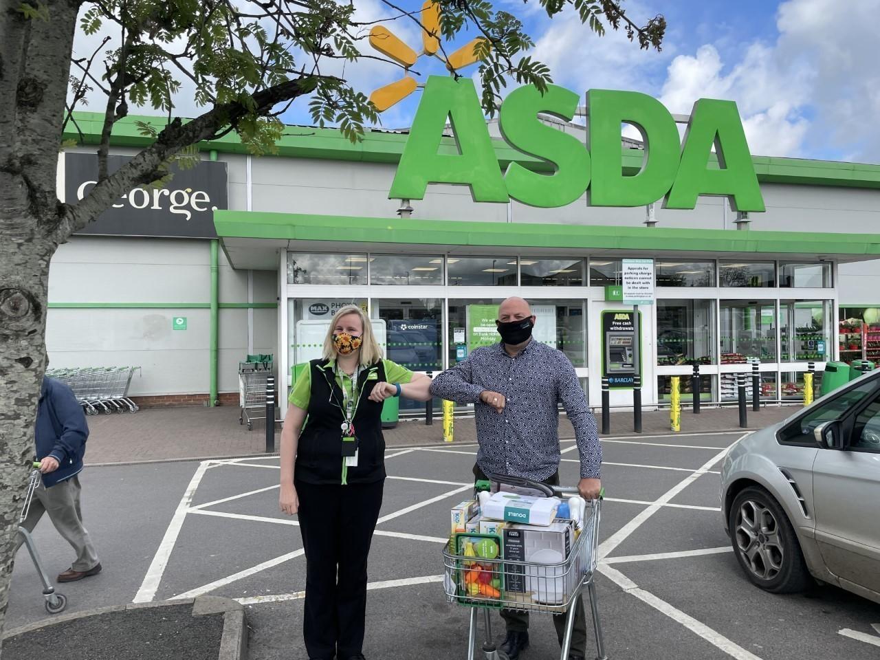 Riversmeet donation for Target 100 | Asda Gillingham