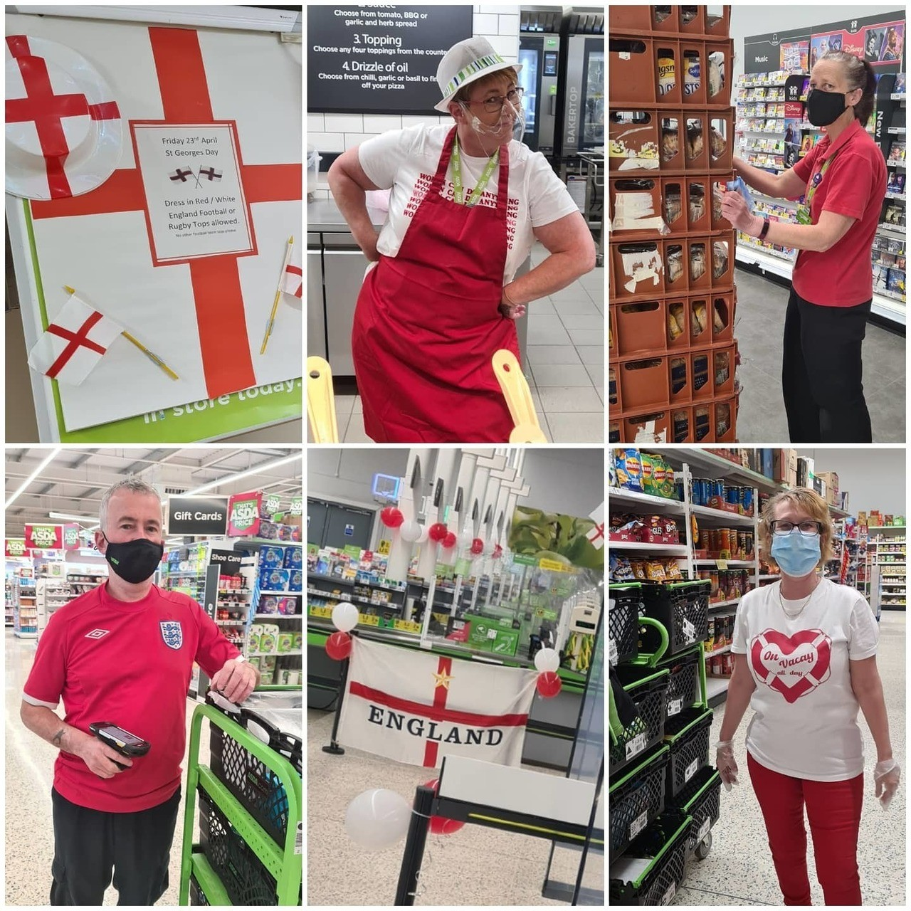 Happy St George's Day | Asda Newport Isle of Wight