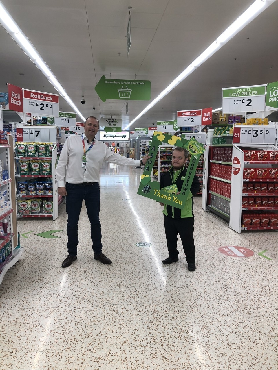 A big thank you to colleagues  | Asda Cookstown