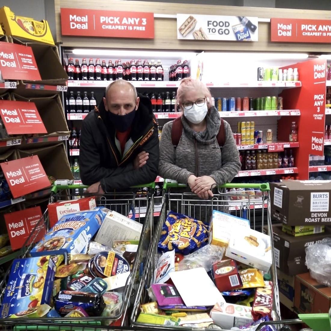 Food bank donation | Asda Bedminster