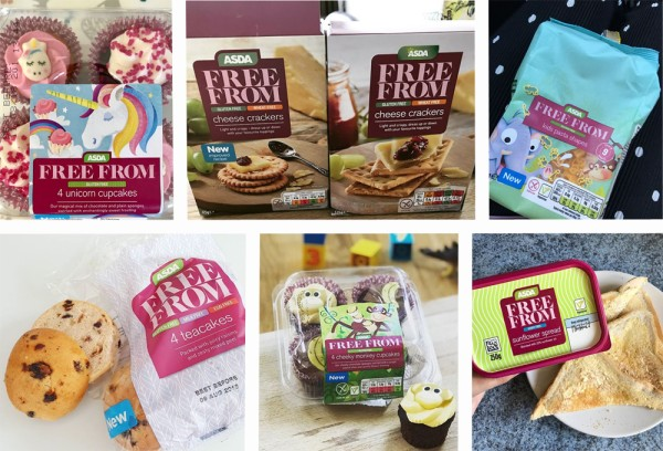 Asda Free From products