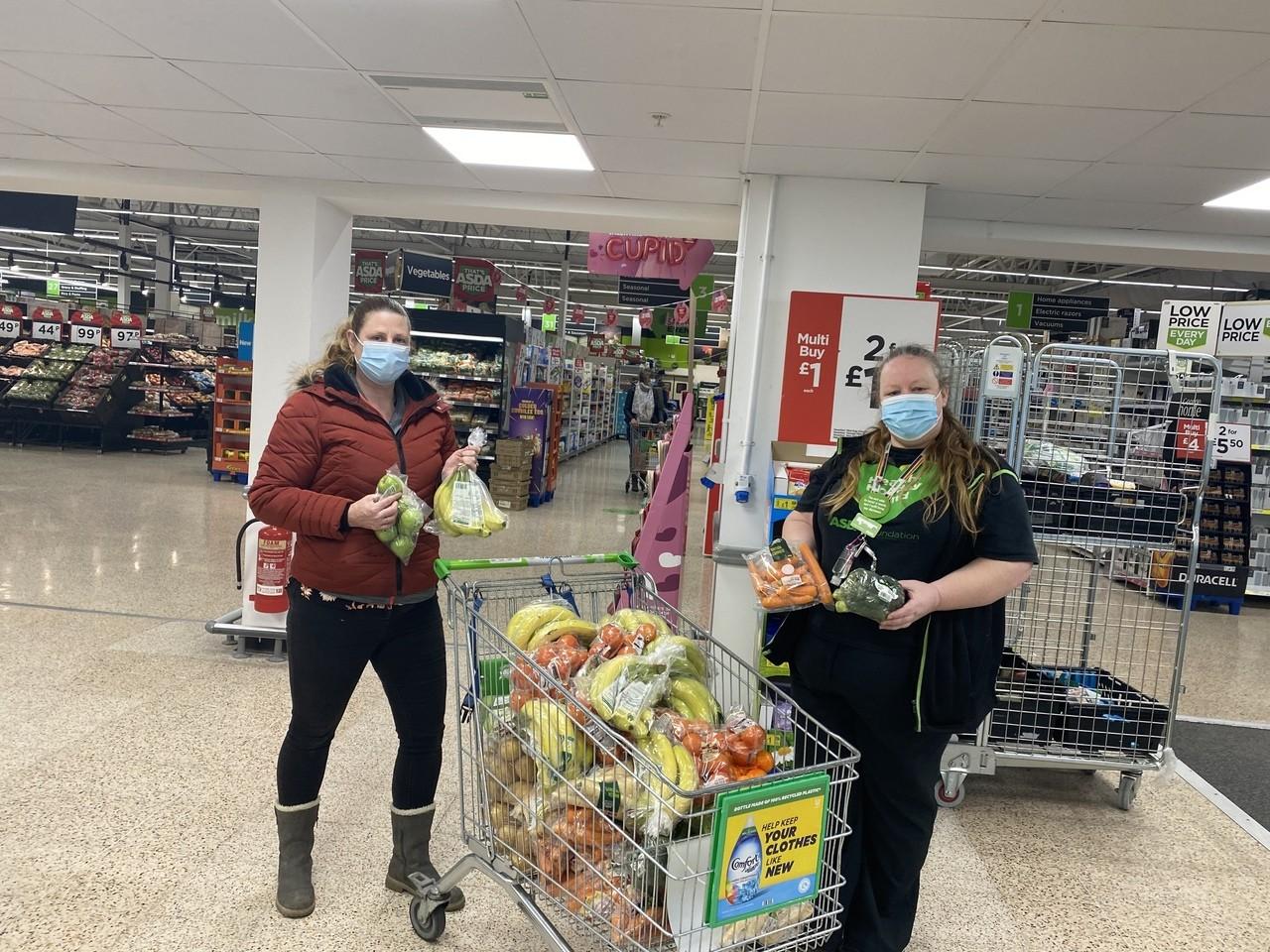 Helping hand to Crisis Food Gosport | Asda Gosport