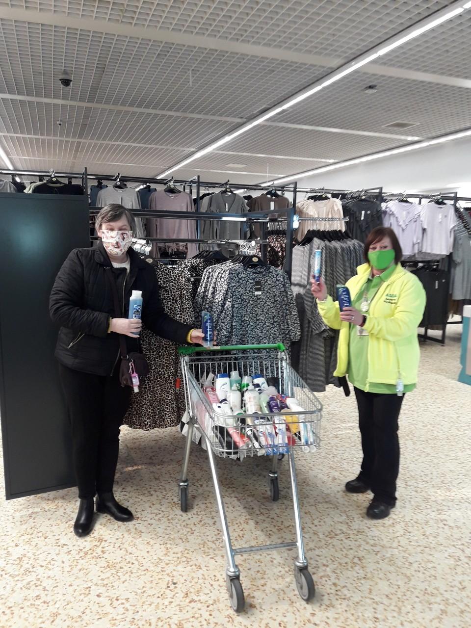 Donation to care home | Asda Cramlington