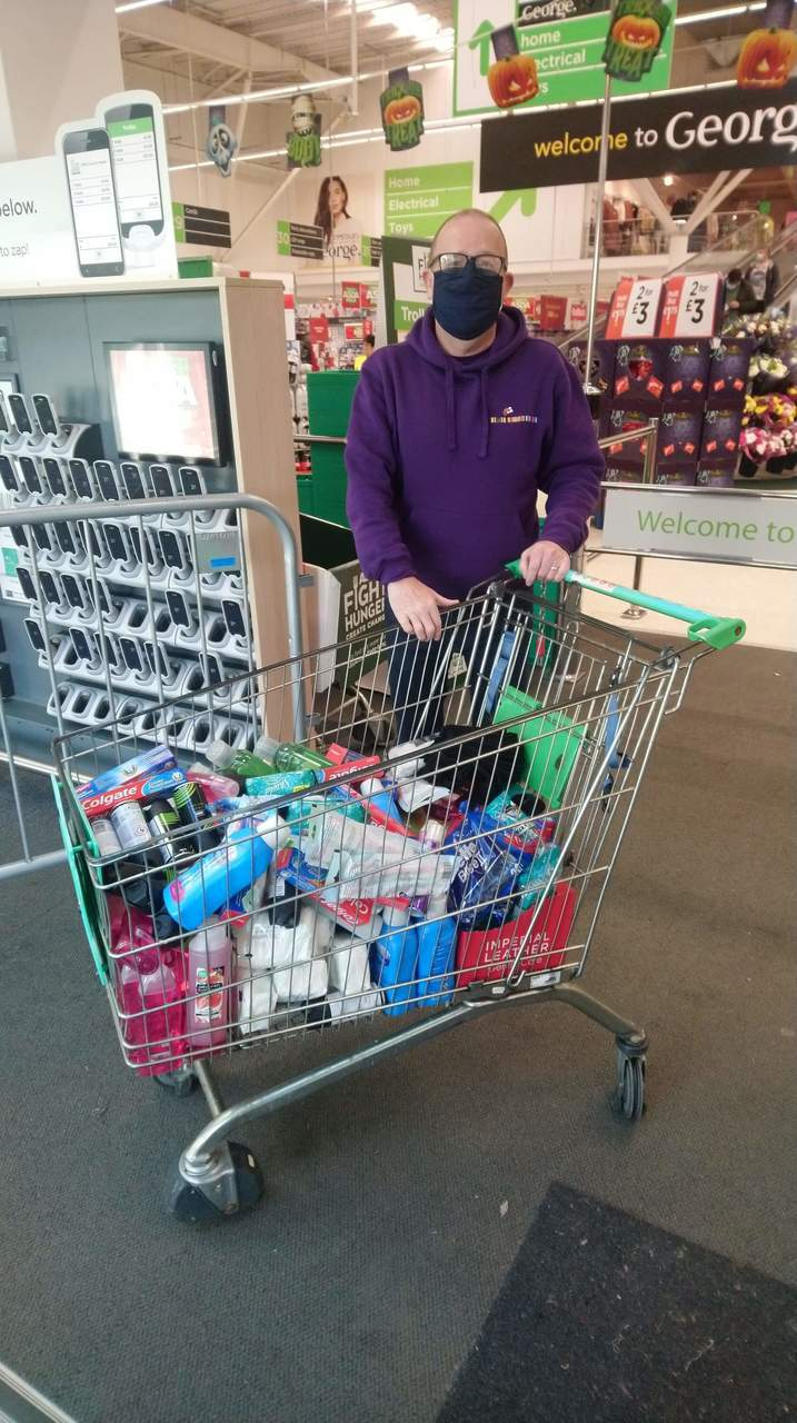 Donation to Erskine care home  | Asda Clydebank