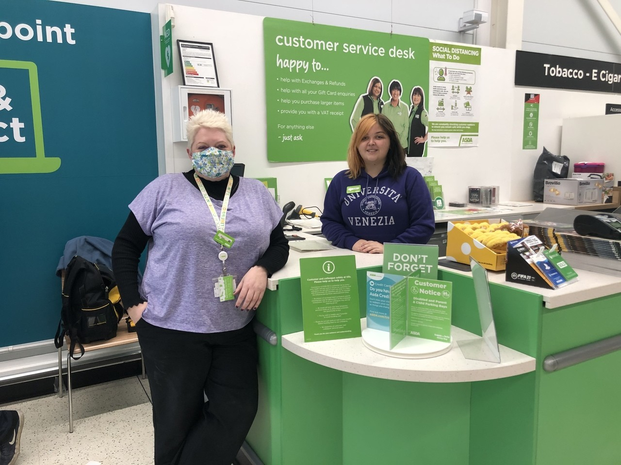 Supporting Purple Tuesday  | Asda Portadown