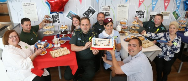 Asda Longwell Green celebrates the NHS's 70th anniversary