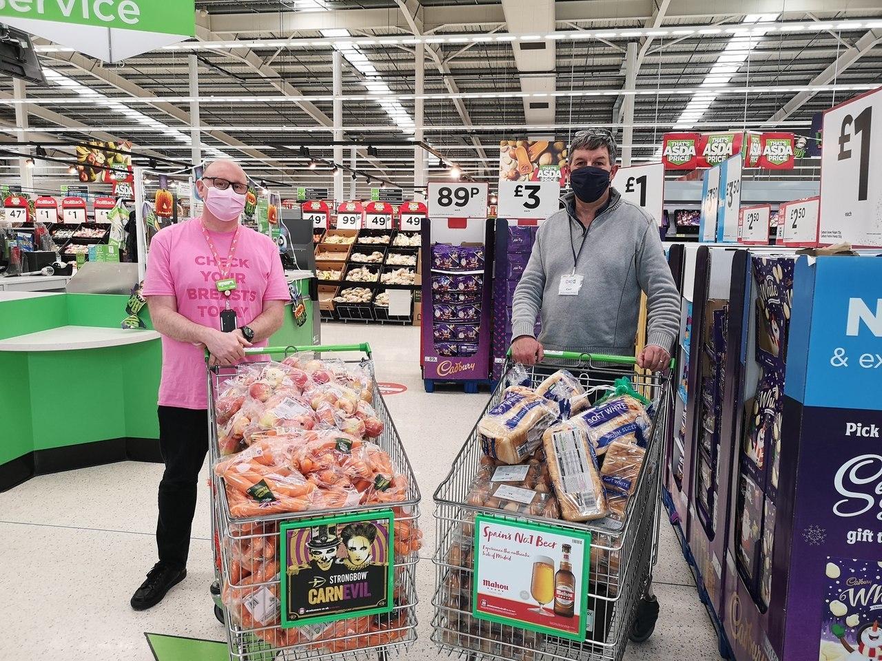 Helping fight holiday hunger | Asda Long Eaton