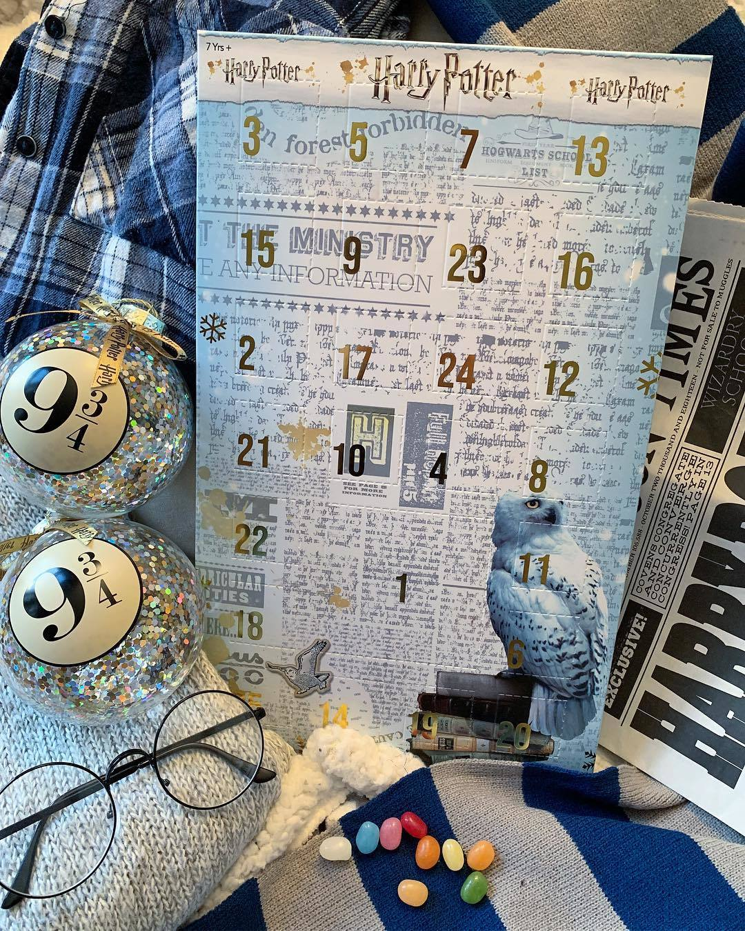 Harry Potter Advent Calendar.Our Harry Potter Advent Calendar Adds A Touch Of Magic To The