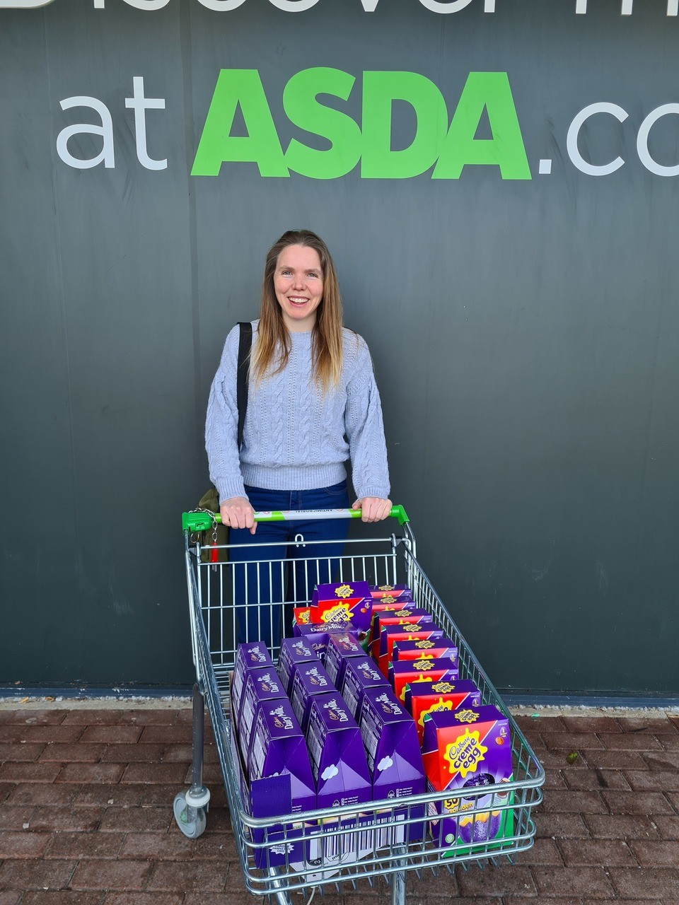 Easter donations.  | Asda West Swindon
