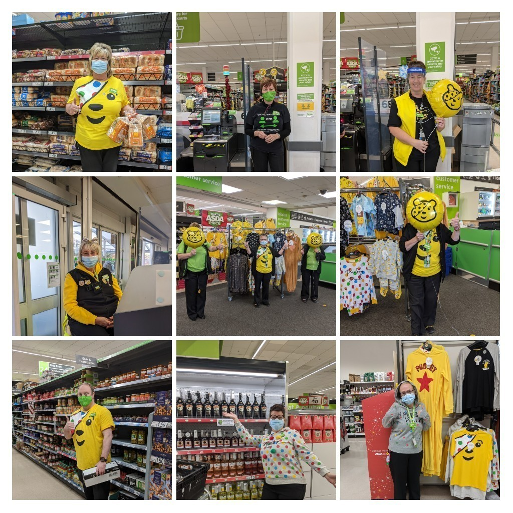 Children in Need fun | Asda Bromsgrove