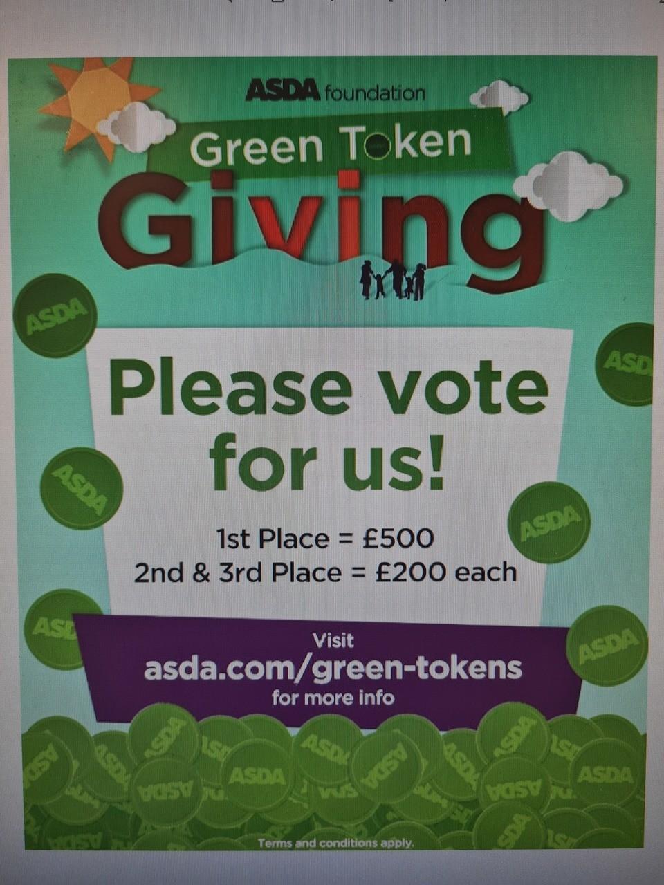 Green tokens go digital | Asda Llangefni