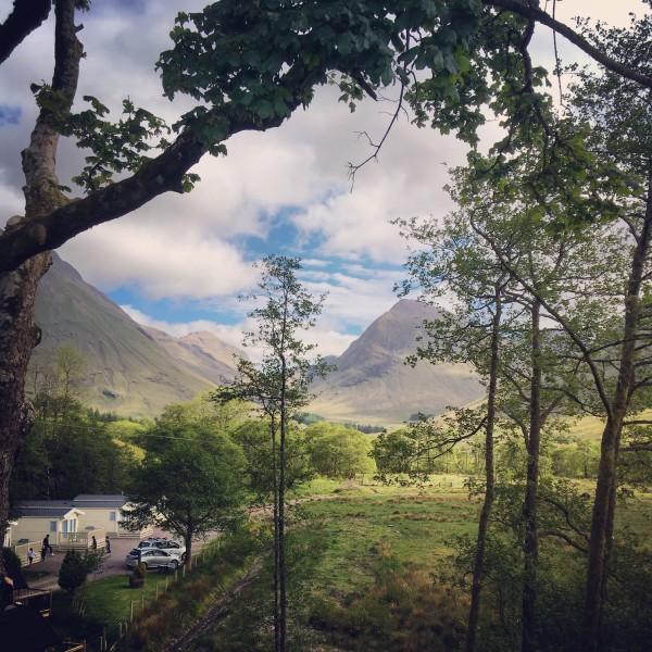 Scottish scenery at Glencoe