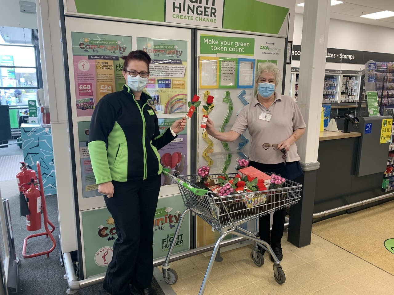 Donation to Annabel House | Asda Weston-super-Mare