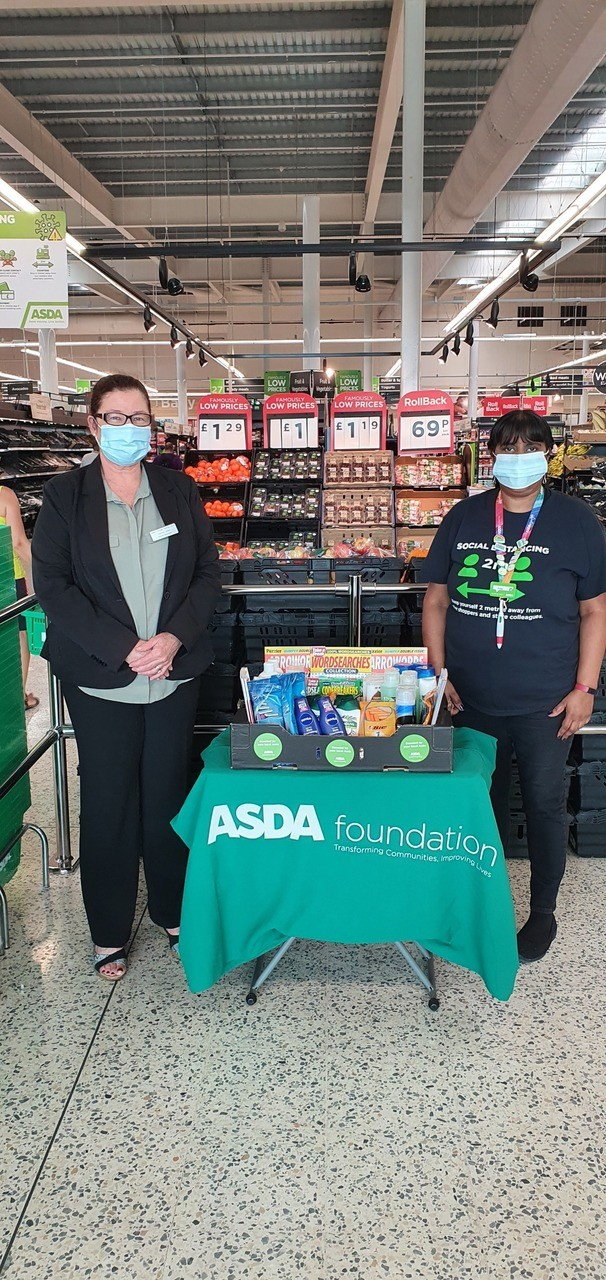 Donation to care homes | Asda Hayes