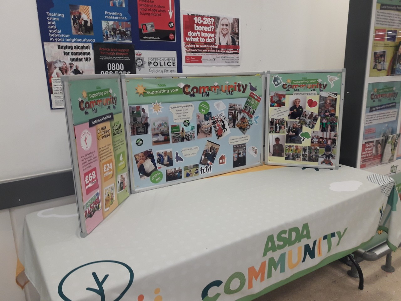 Our amazing colleagues! | Asda Sutton in Ashfield