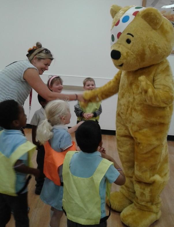 BBC Children in Need at Asda Watford