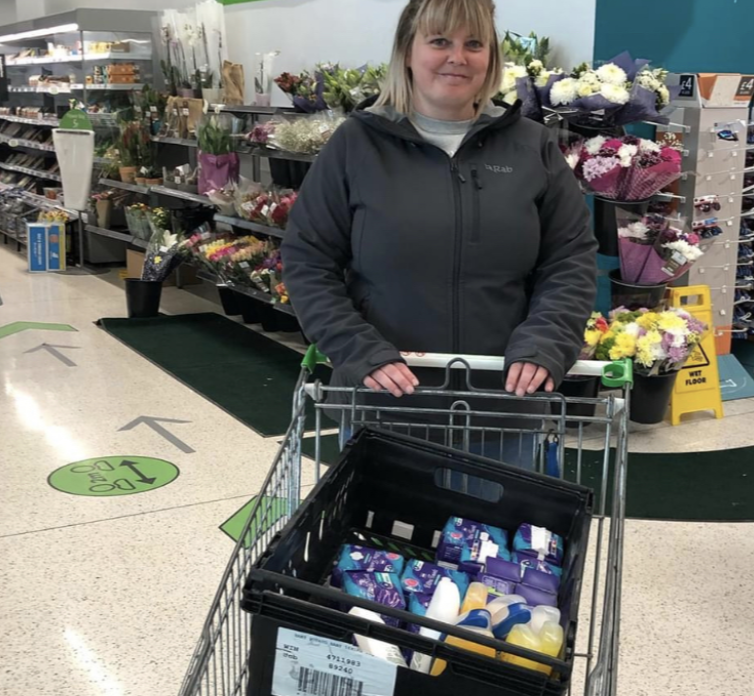 Amazing donations in the community since starting my community champion role | Asda Glenrothes