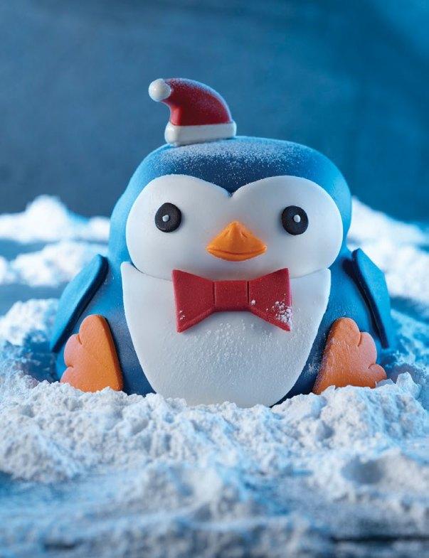 Pip the Penguin Cake