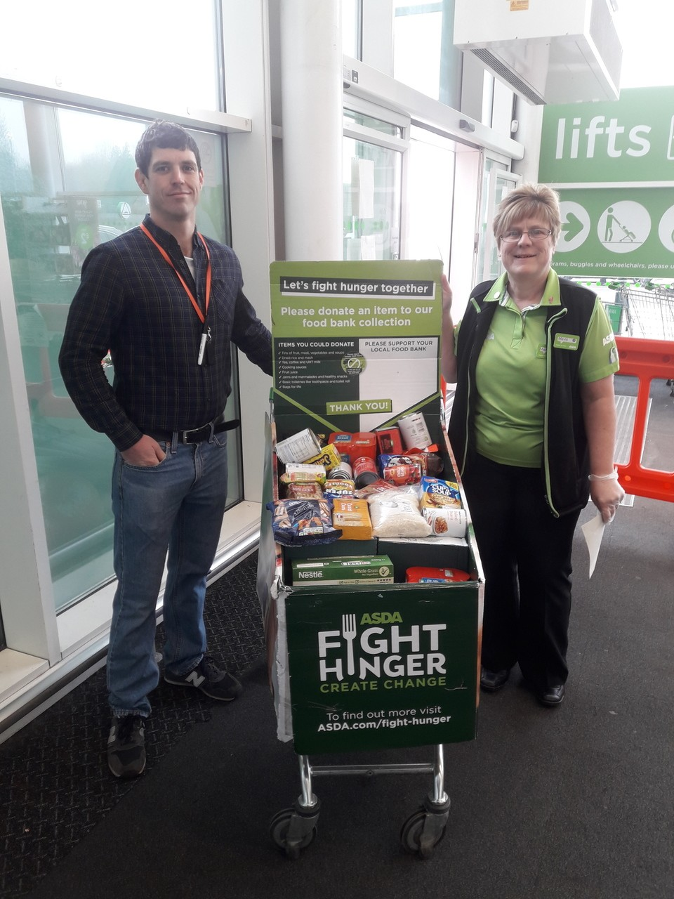Hospitality & Hope Food Bank | Asda South Shields