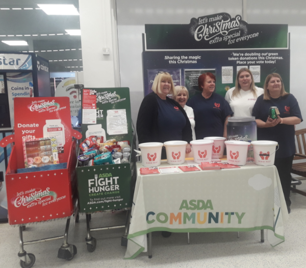 Asda Fight Hunger Create Change at Asda Thornaby