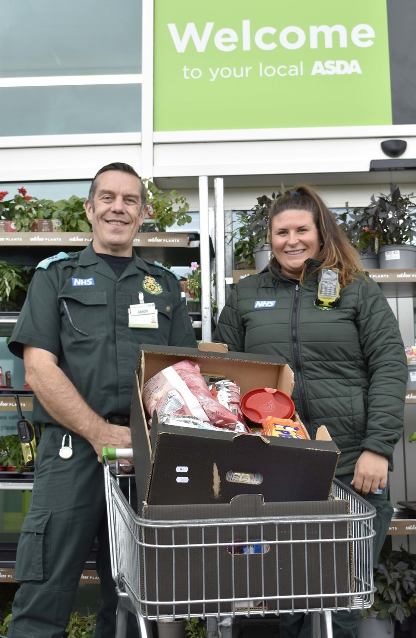 Bideford Ambulance Station donation | Asda Bideford